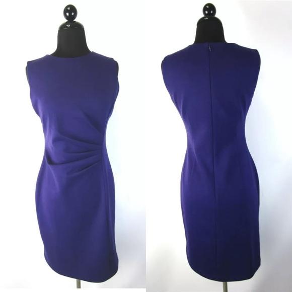 Tahari Dresses & Skirts - NWT Tahari Katalina Dress asymmetrical blueberry
